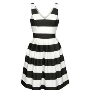 monochrone skater dress