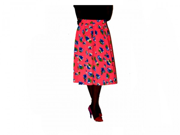 coloful skirt
