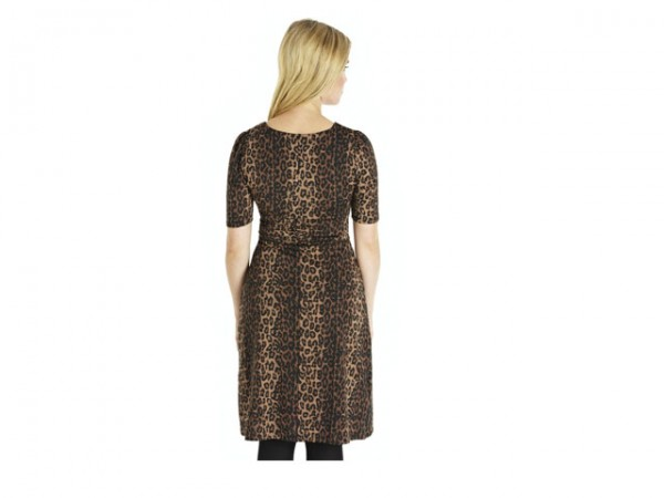 leopard skin dress