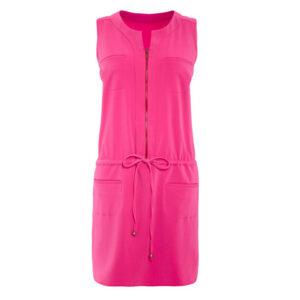 pink next utility dress