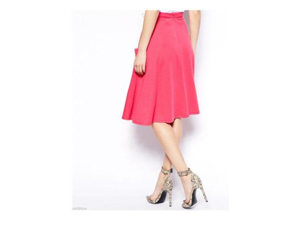 asos pink skirt 1