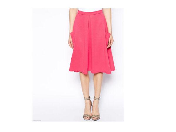 asos pink skirt 2
