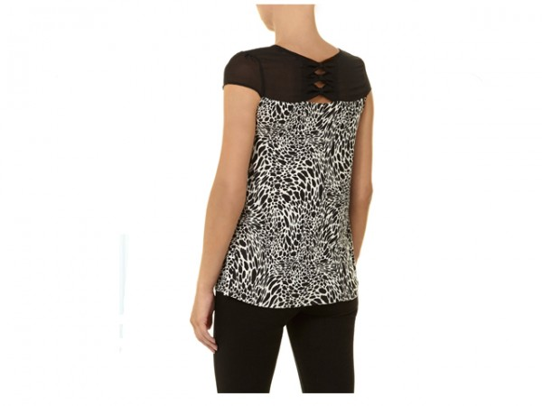 leopard top back