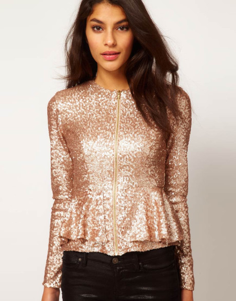 bcd720d7914510 Asos sequin gold top - Instylefashionista Women Clothing