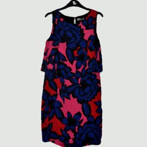 flowered pattern dress