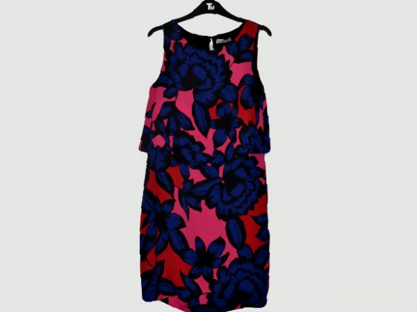 flowered pattern dress