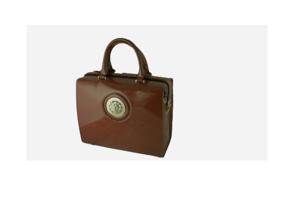 brown very big box bag