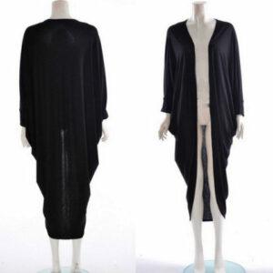 long black kimono