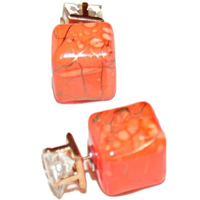 cube earring