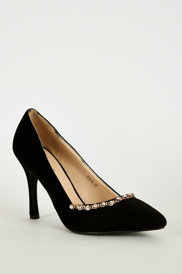 chain high shoes