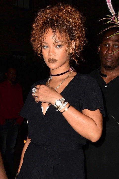 RIRI IN LAyered choker necklace