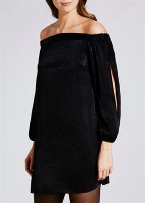satin-bardot-dress